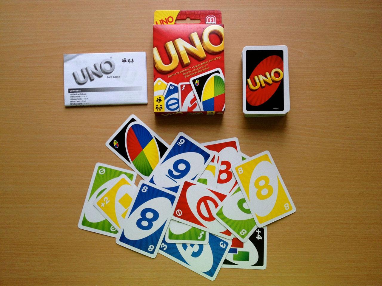 карты играть в игра uno
