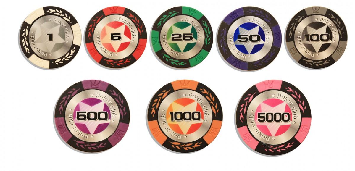 STARS 200, Набор для игры в покер