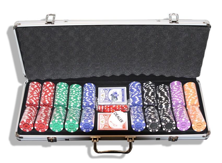 RussianPro 500, Набор для игры в покер