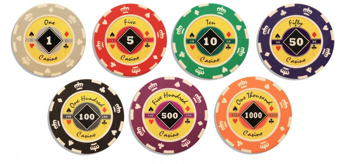 Crown 500, Набор для игры в покер