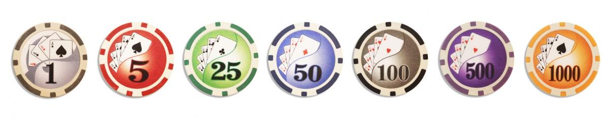 Royal Flush 500, Набор для игры в покер