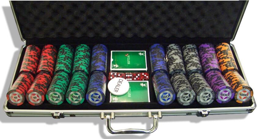 STARS 500, Набор для игры в покер