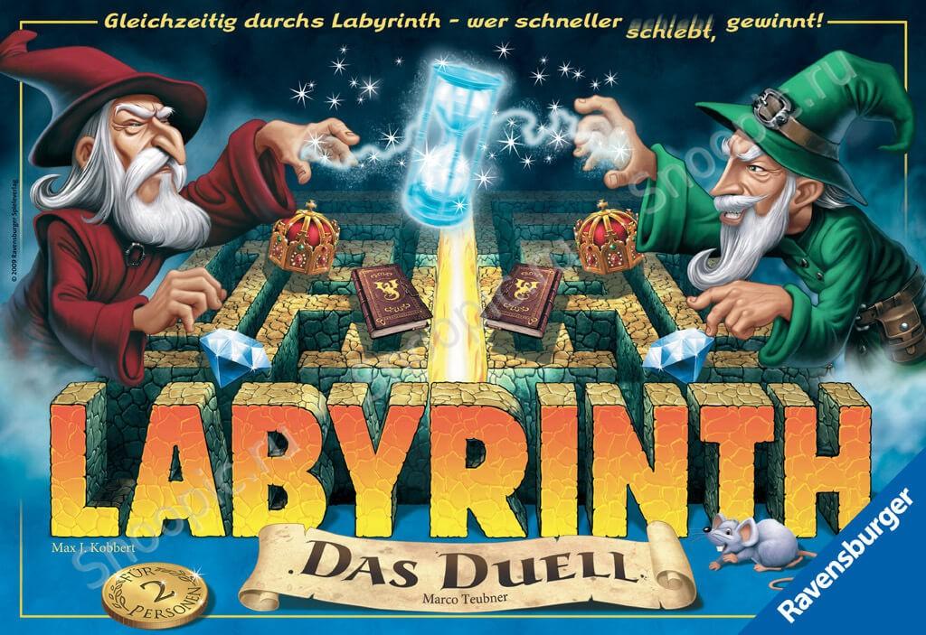 Настольная игра Лабиринт Дуэль (Labirinth Duel)