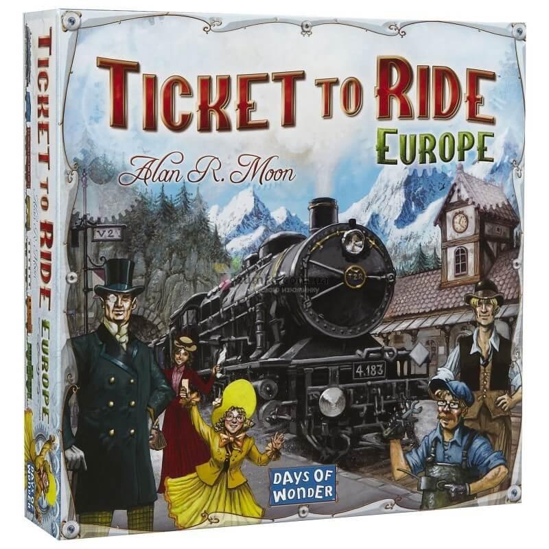 Билет на поезд по Европе (Ticket to Ride: Europe)