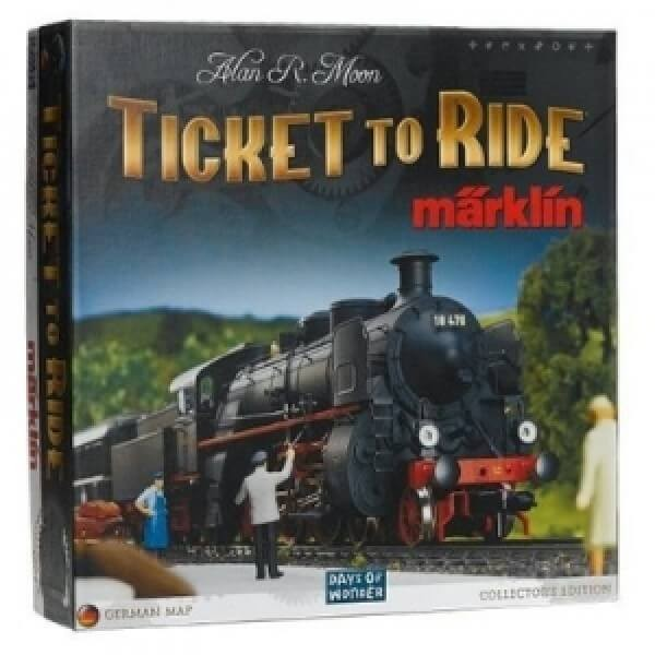 Настольная игра Билет на поезд, издание Марклин (Ticket to Ride: Marklin Edition)