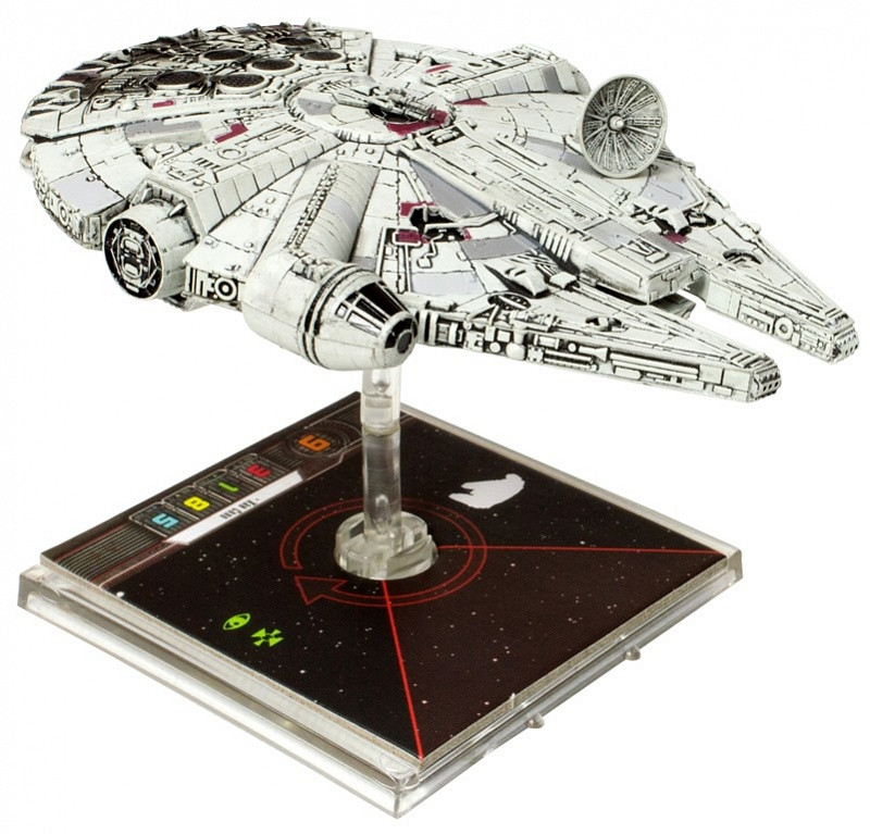 Настольная игра: Star Wars. X-Wing. Расширение ТЫСЯЧЕЛЕТНИЙ СОКОЛ, арт. 1206