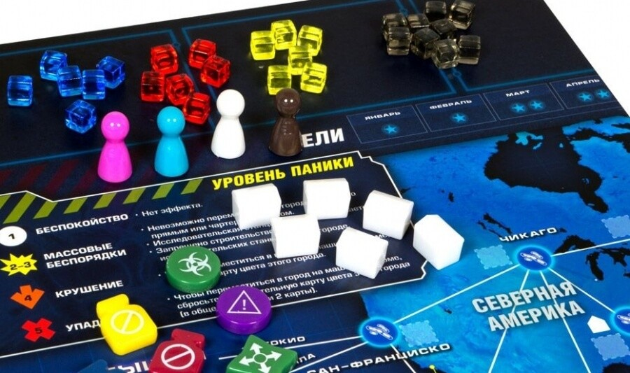 Пандемия: Наследие (голубая коробка)