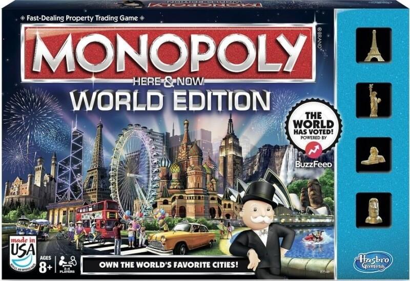 Монополия. Всемирная версия Здесь и сейчас