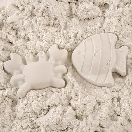 Живой песок 750 г. + Инструменты для игр (масса для лепки)