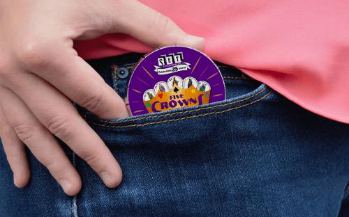 Пять корон мини (Five Crowns mini)