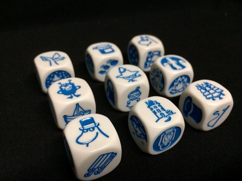 Кубики Историй Муми-тролли