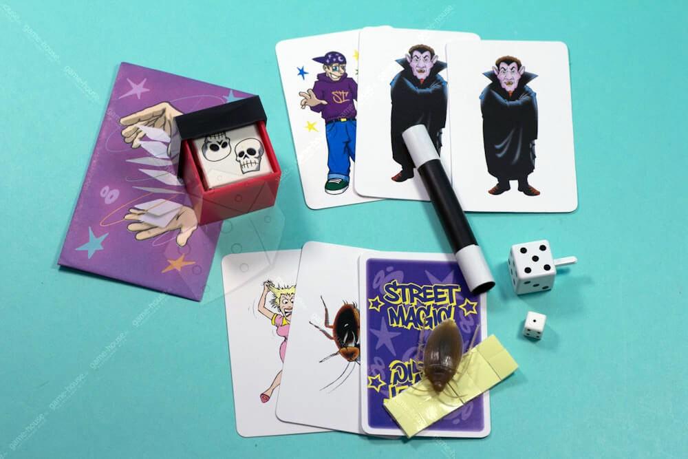 Фокусы Уличная магия (фиолетовый)