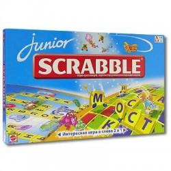 Скрэббл для детей (Scrabble junior)
