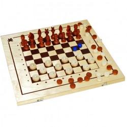 Набор 3 в 1 (нарды, шашки, шахматы)