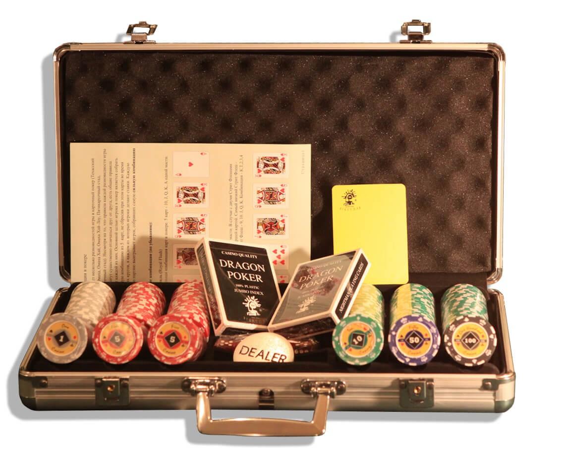 Crown 300, Набор для игры в покер