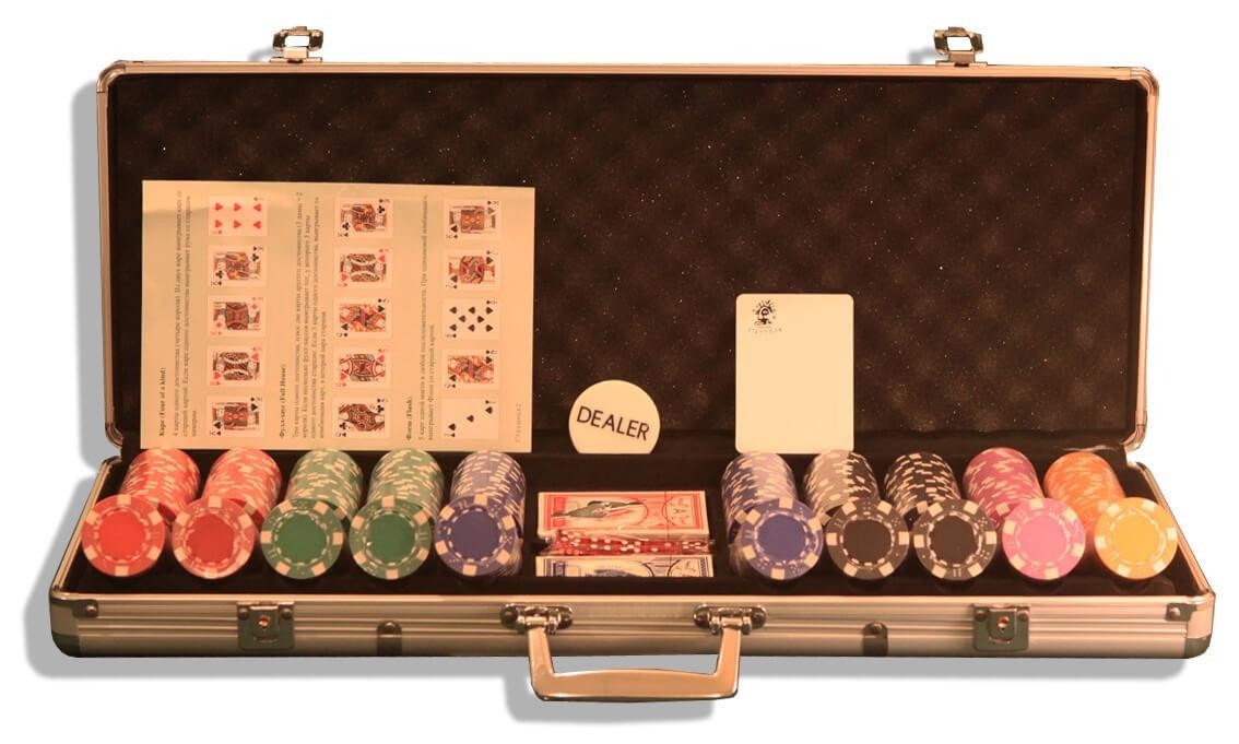 Dice 500, Набор для игры в покер
