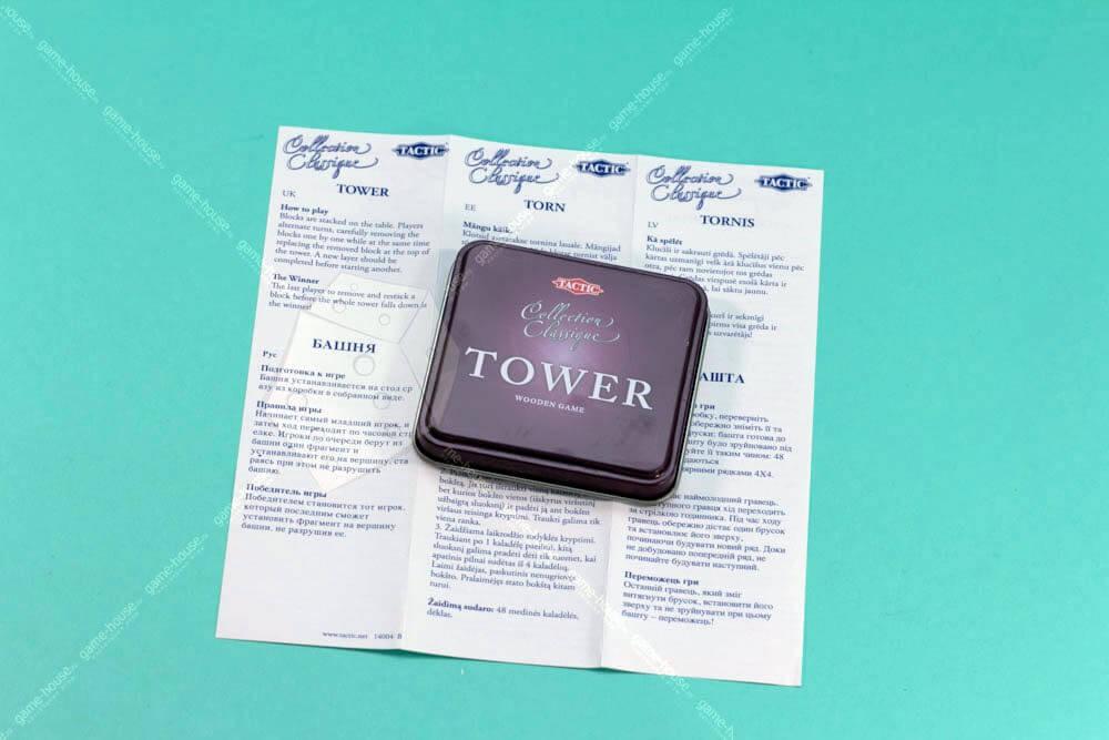 """Настольная игра """"Башня, коллекционная"""" (Tower)"""