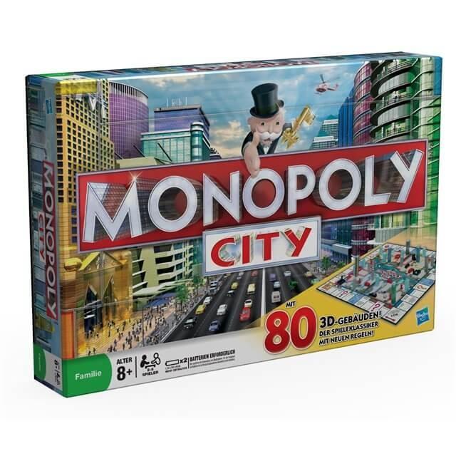 """Настольная игра """"Монополия Сити"""" (Monopoly City)"""