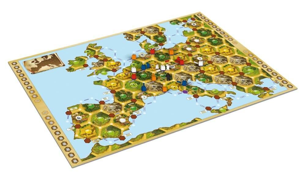Колонизаторы. Европа