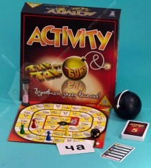 Настольная игра Активити + Тик Так Бумм
