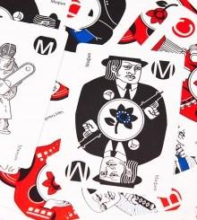 Карты для игры в Мафию (пластиковые)