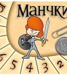 Набор счетчиков уровней Манчкин