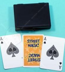 Набор фокусов Уличная магия (оранжевый)