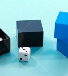 Набор фокусов Уличная магия (синий)